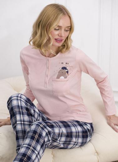 Pierre Cardin Pijama Takım Somon